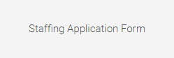 Staffing-Application
